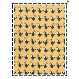 """Housse petit format"""" toucan"""""""