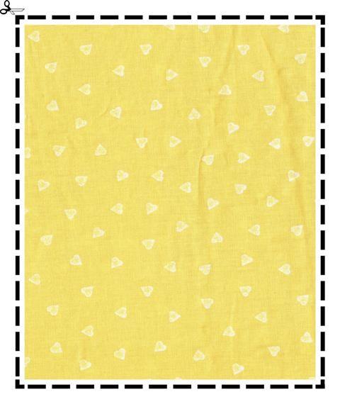 jaune coeur